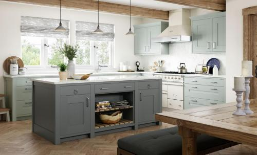 country-classic-traditional-clonmel-light-blue-gun-metal-grey-kitchen-hero