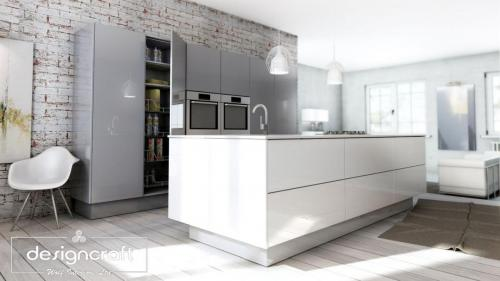dublin modern kitchen