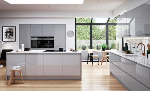 handleless kitchens