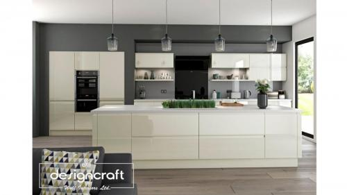kitchens dublin gloss